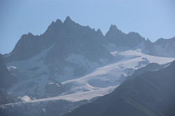 Glacier et l'aiguille d'Argentière
