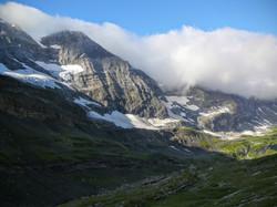 L'Eglise (3077 m) et son glacier