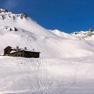 Le refuge CAF des Drayères (2180 m)