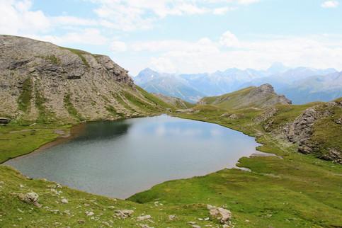 Le lac du Petit Laus (2805 m)