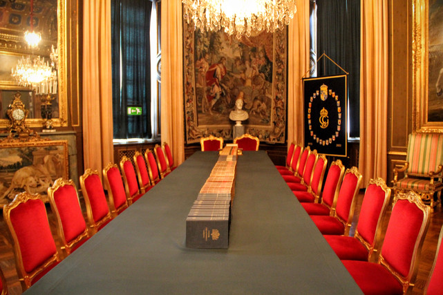 La salle du conseil des ministres