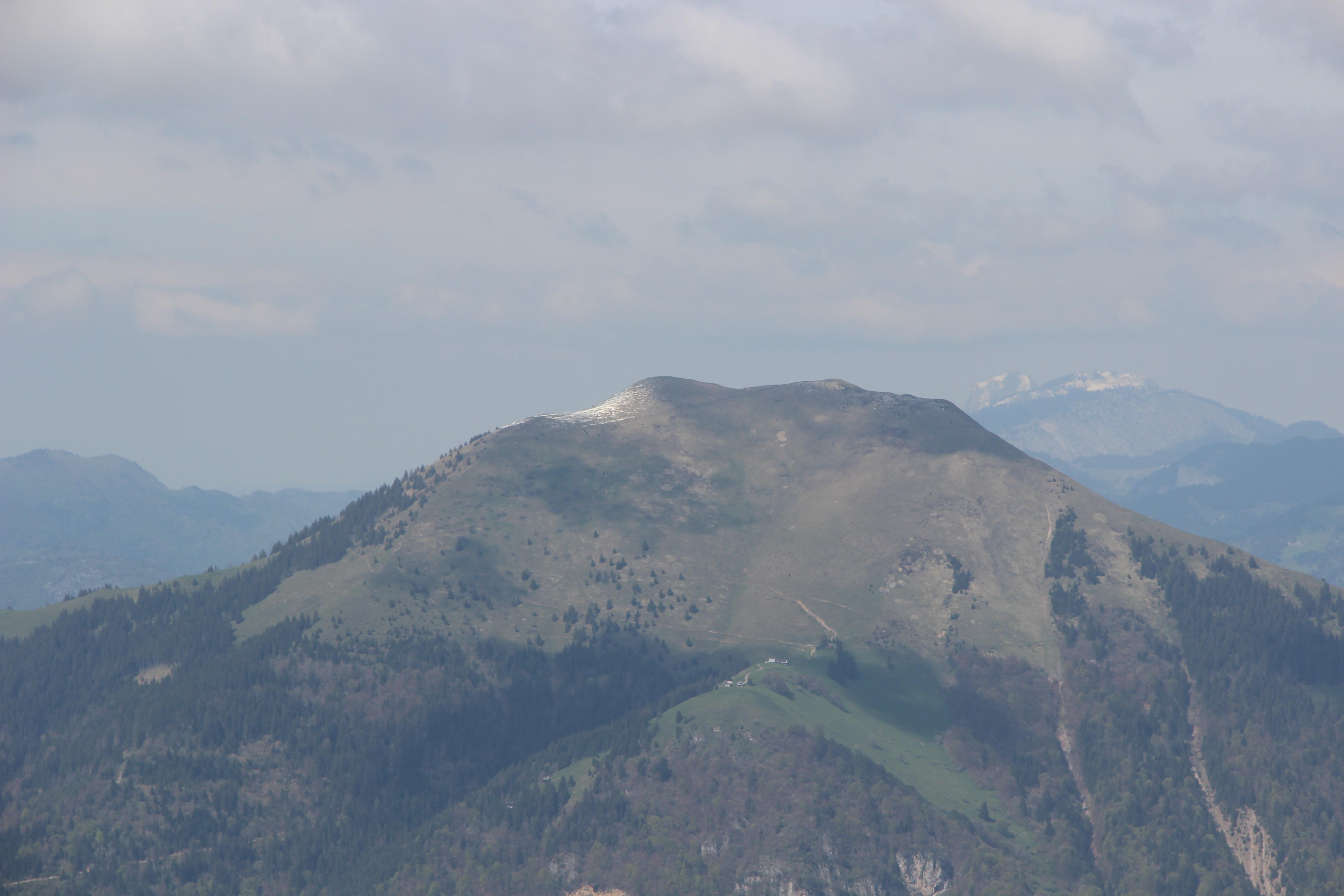 Le sommet du Môle (1863 m)