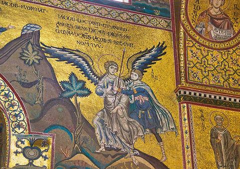 Mosaïque de l'ancien testament