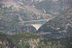 Le barrage d'Emosson