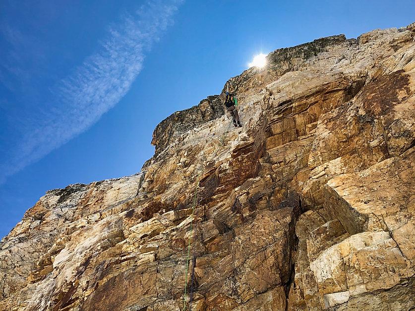 Rappel du mont Pelve (Vanoise)