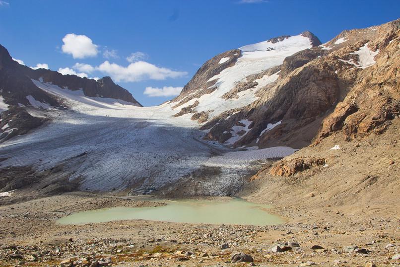 Le Pic de l'Etendard 3464 m)