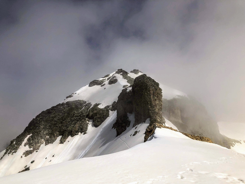 La cime du mont d'Ambin