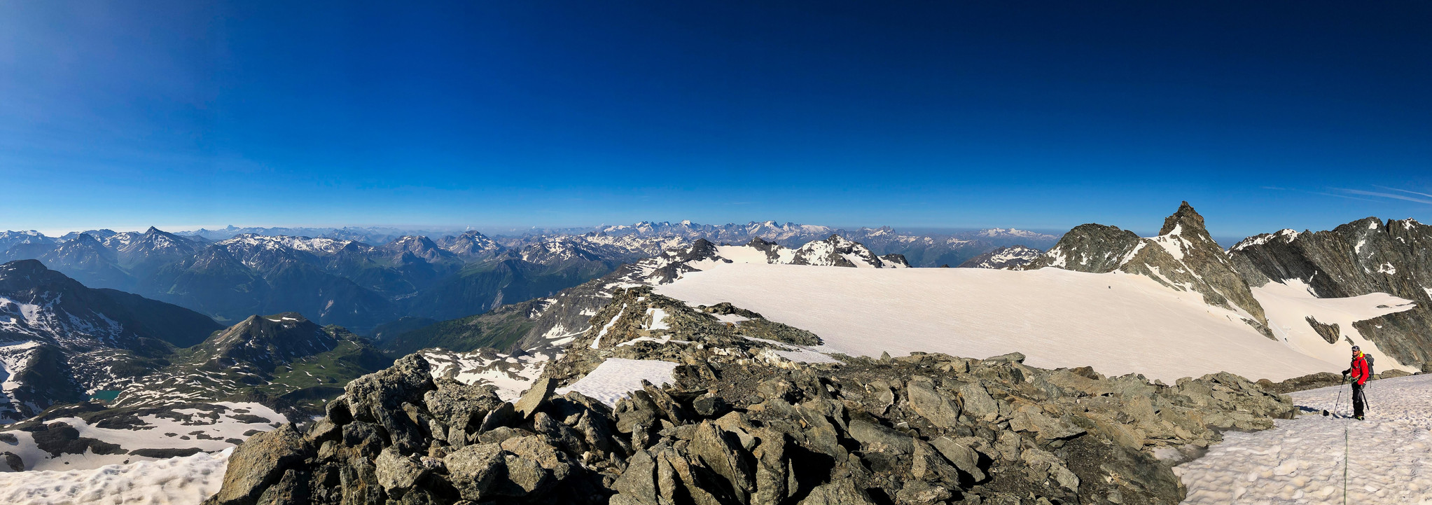 Panorama versant Alpes du Sud