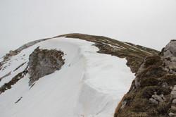 La corniche de neige