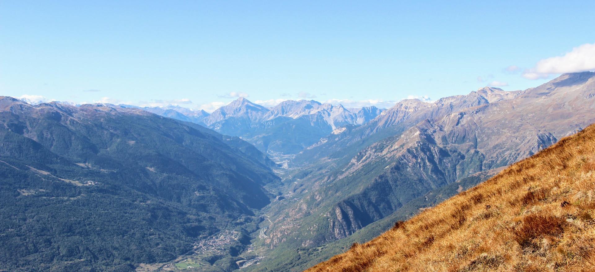 Le Haut Val de Suse menant au Montgenèvre
