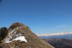 Le sommet depuis la 2ème croix