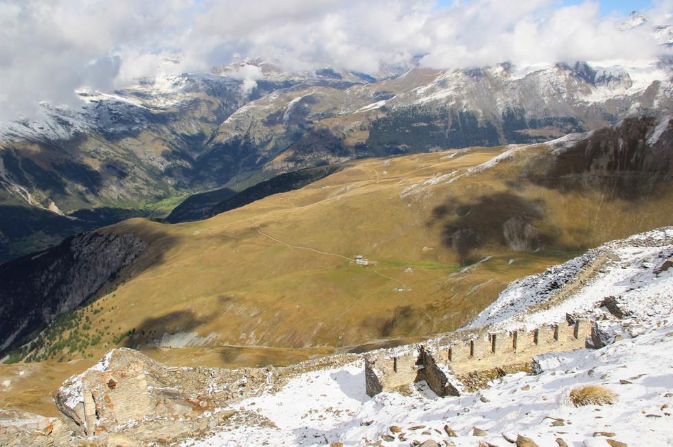 Vestiges de la ligne Maginot des Alpes