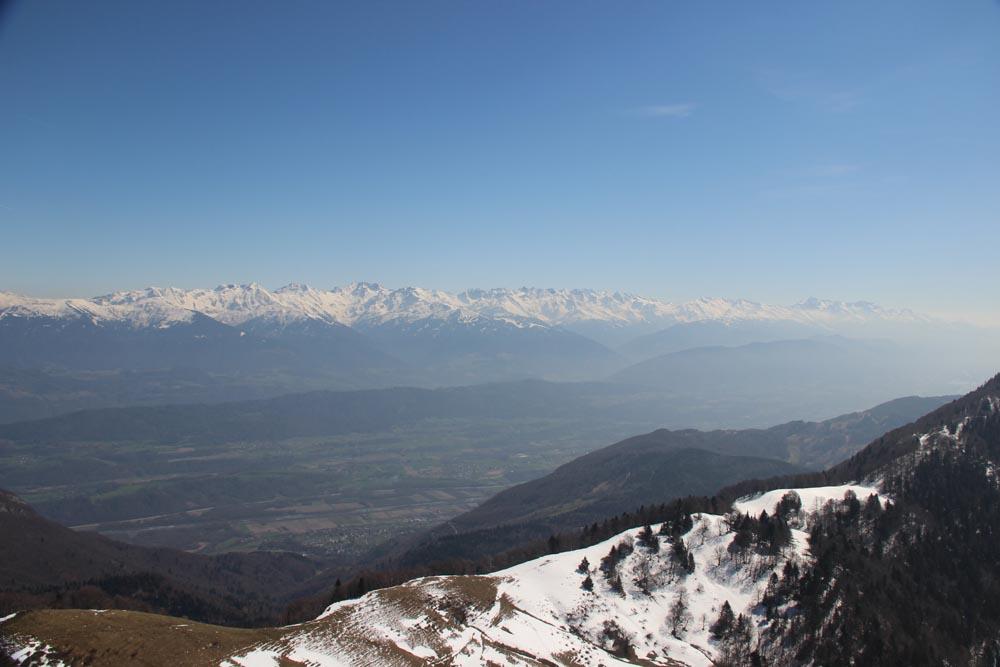 La vallée de l'Isère