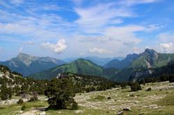 Le massif de la Chartreuse