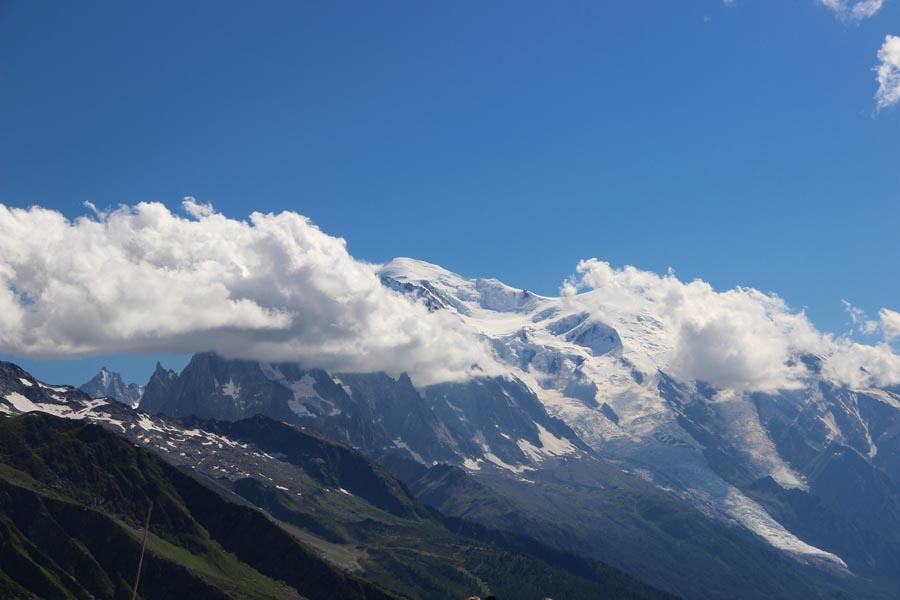 Revoilà le Mt-Blanc côté français