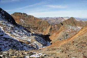 Le Pic du Port de Sullo (3072 m)