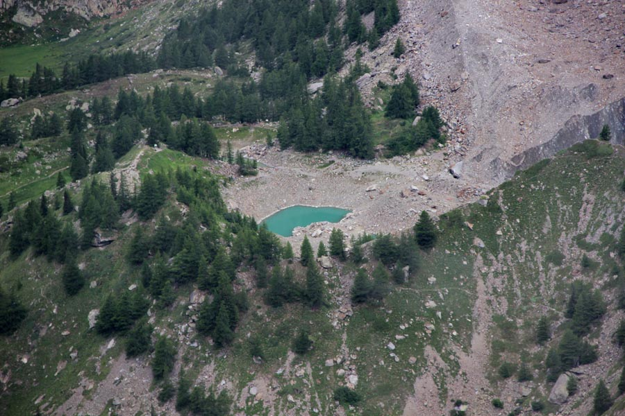 Le lac de Miage