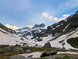 La pointe d'Ambin (3266 m) et le Gd Cordonnier (3086 m)