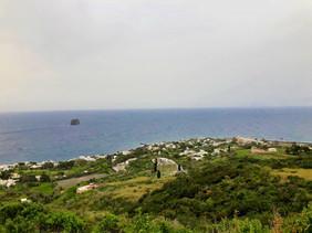 Le village de Stromboli