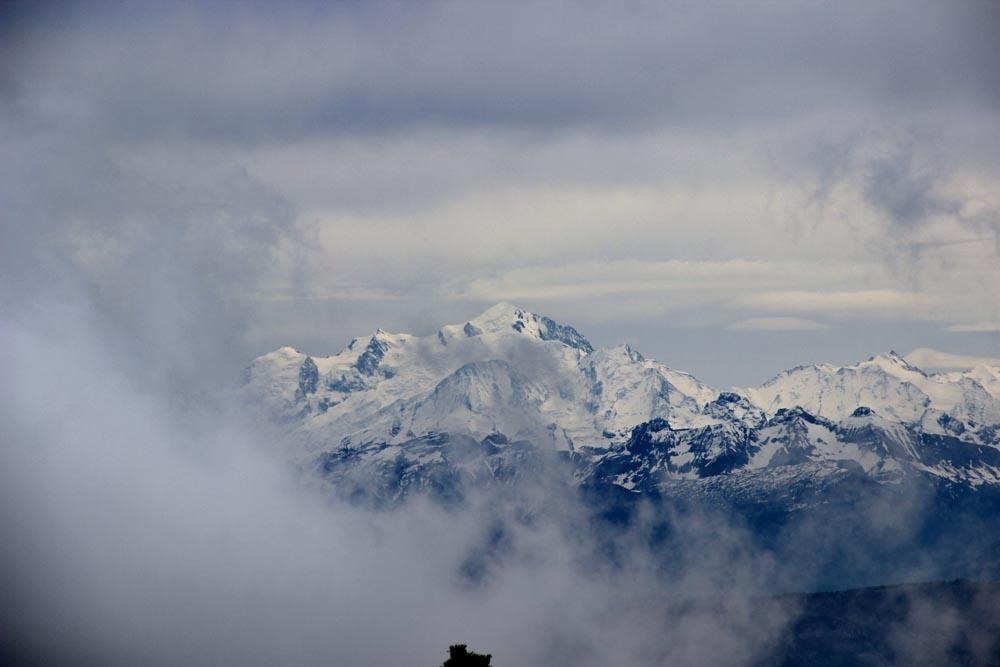 Le Mont-Blanc, menaçant !!!
