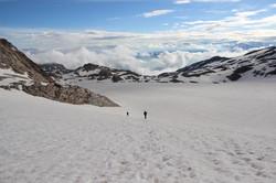 Le long glacier de St-Sorlin