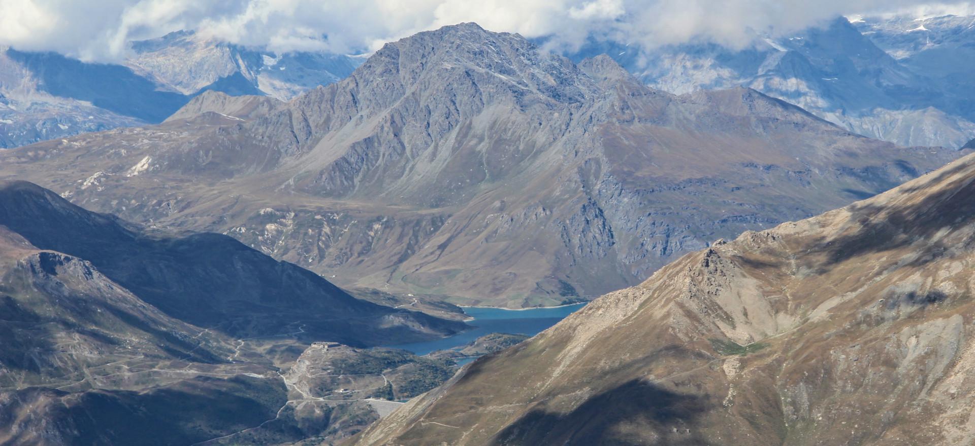 Le Petit Mont Cenis et le lac de retenue