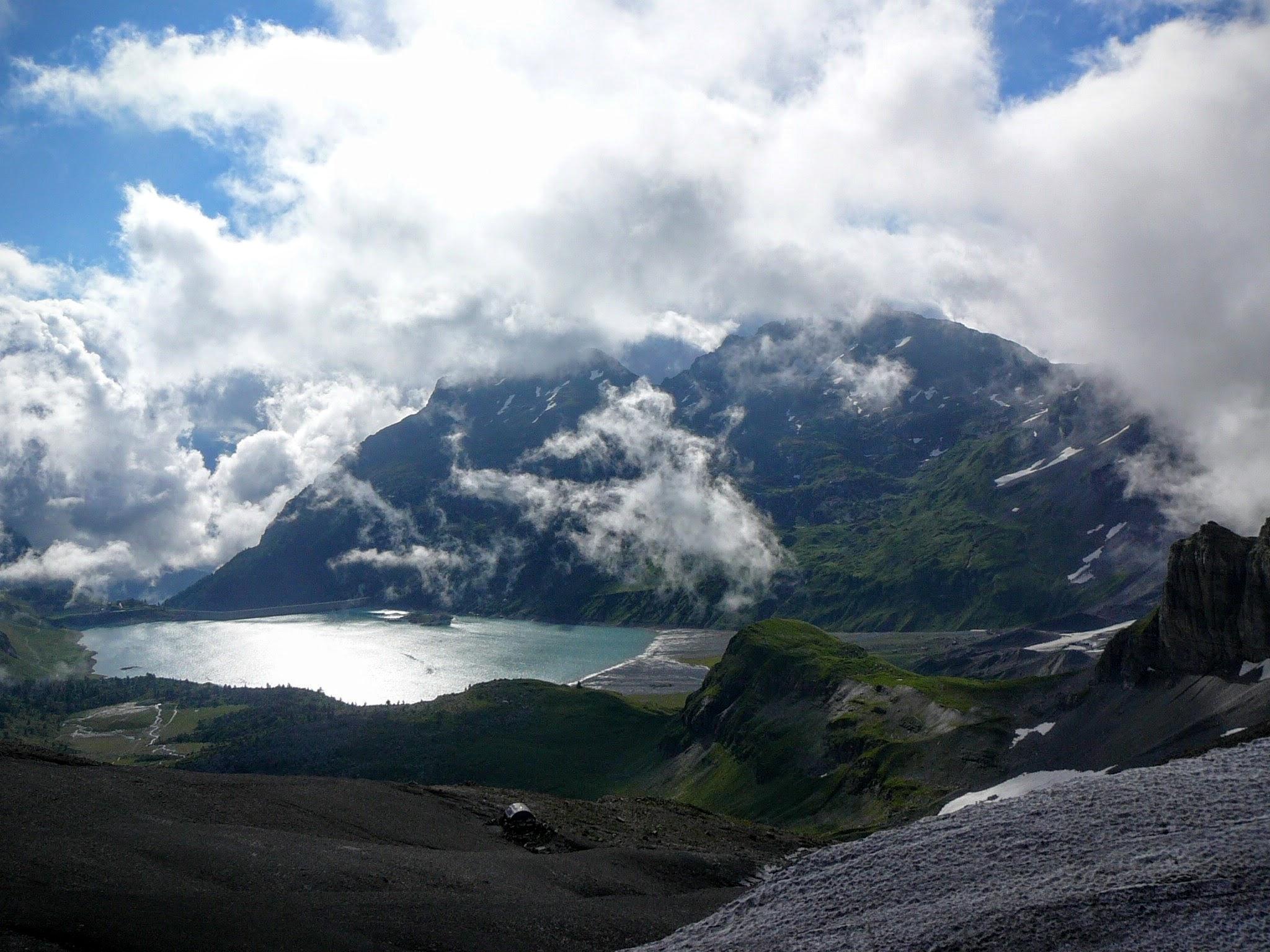 Le lac de Salanfe (1970 m)