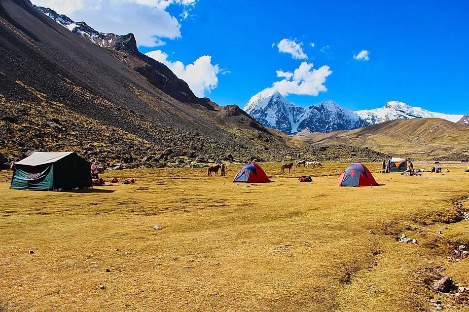 Camp Jampa (tour de l'Ausangate)