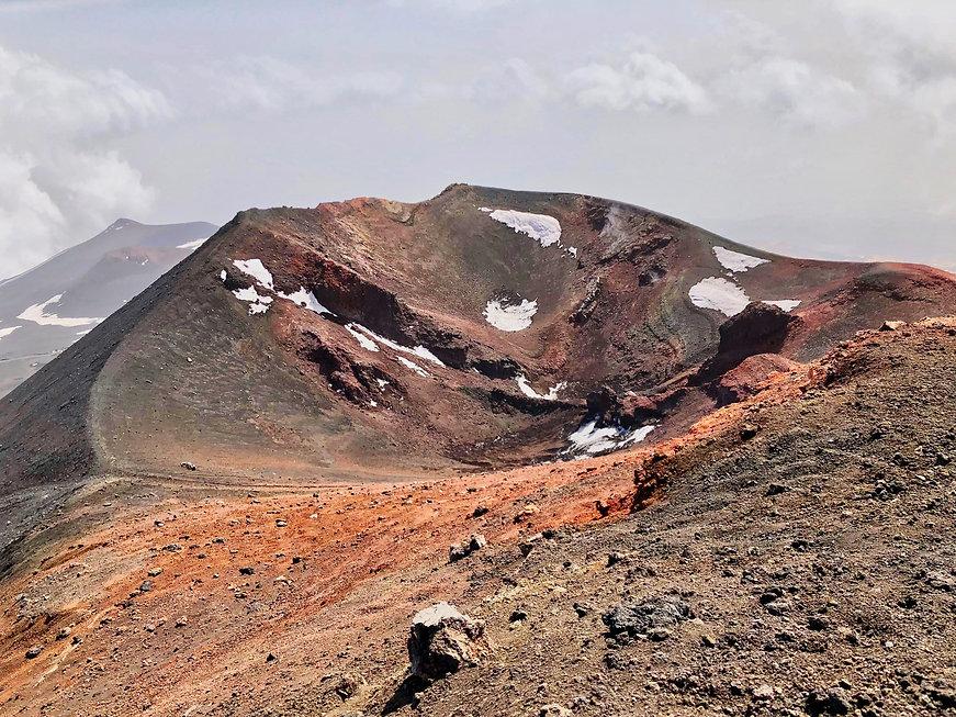 Cratère de 2003 Etna