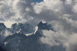 Tempétueuse montagne...