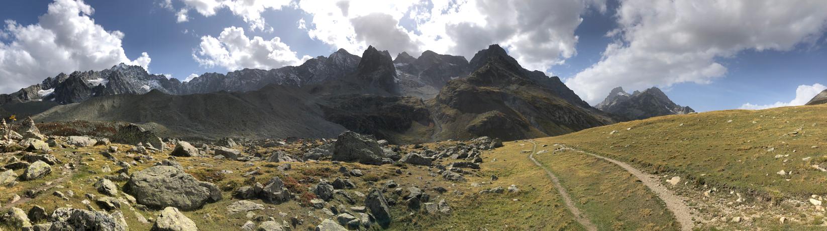 306 depuis le col d'Arsine 2340 m)