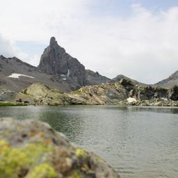 Lac Blanchet et tête des Toillies