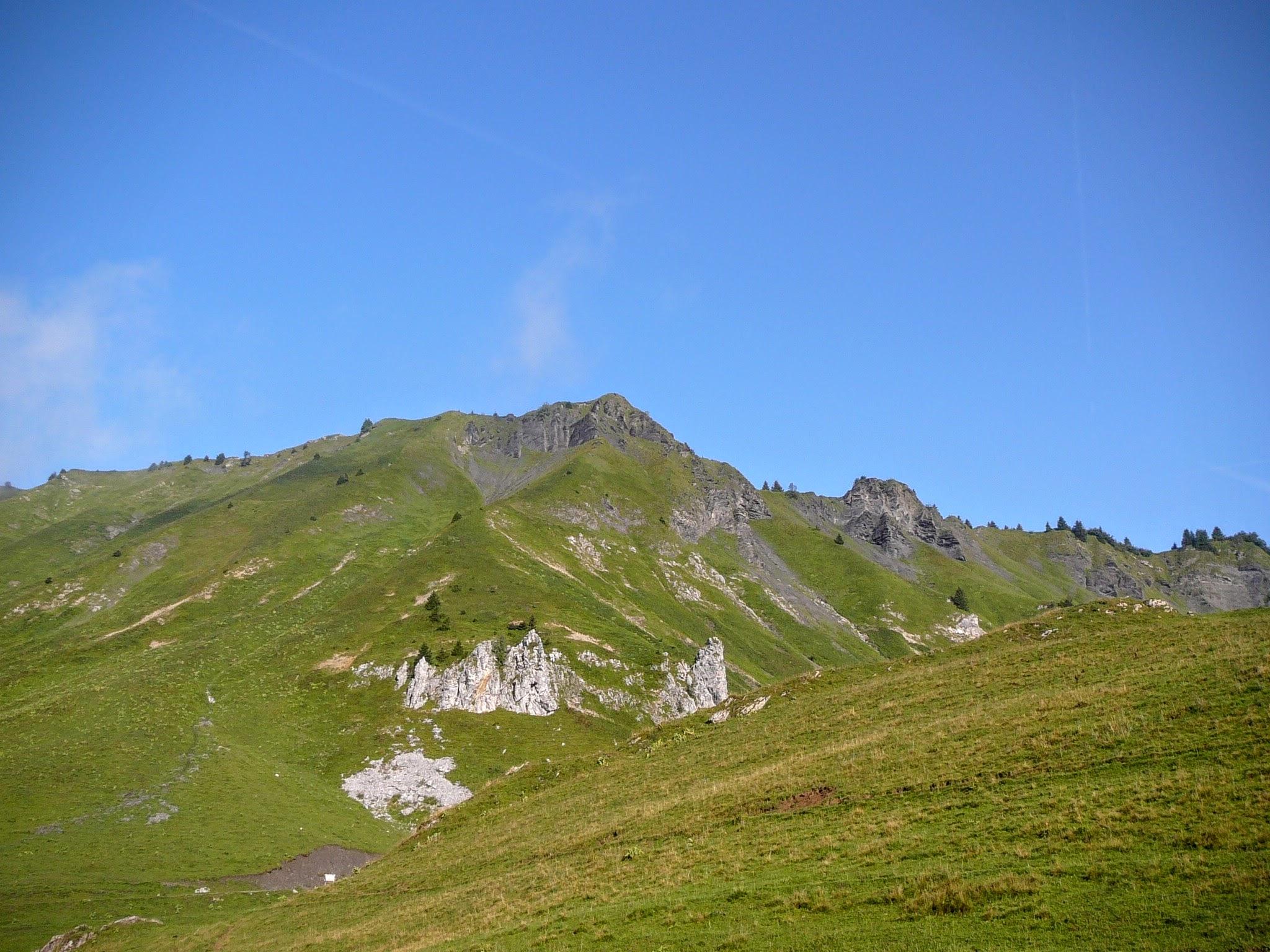 La pointe de la Golèse (1835 m)