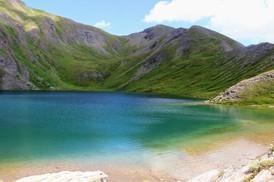 Le lac du grand Laus (2579 m