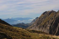 Le Mt Charvin au loin