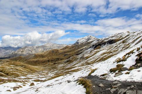 Le Buet au col d'Anterne (2257 m)