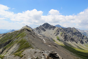 Notre parcours de crète avec le Petit Rochebrune (3078 m)