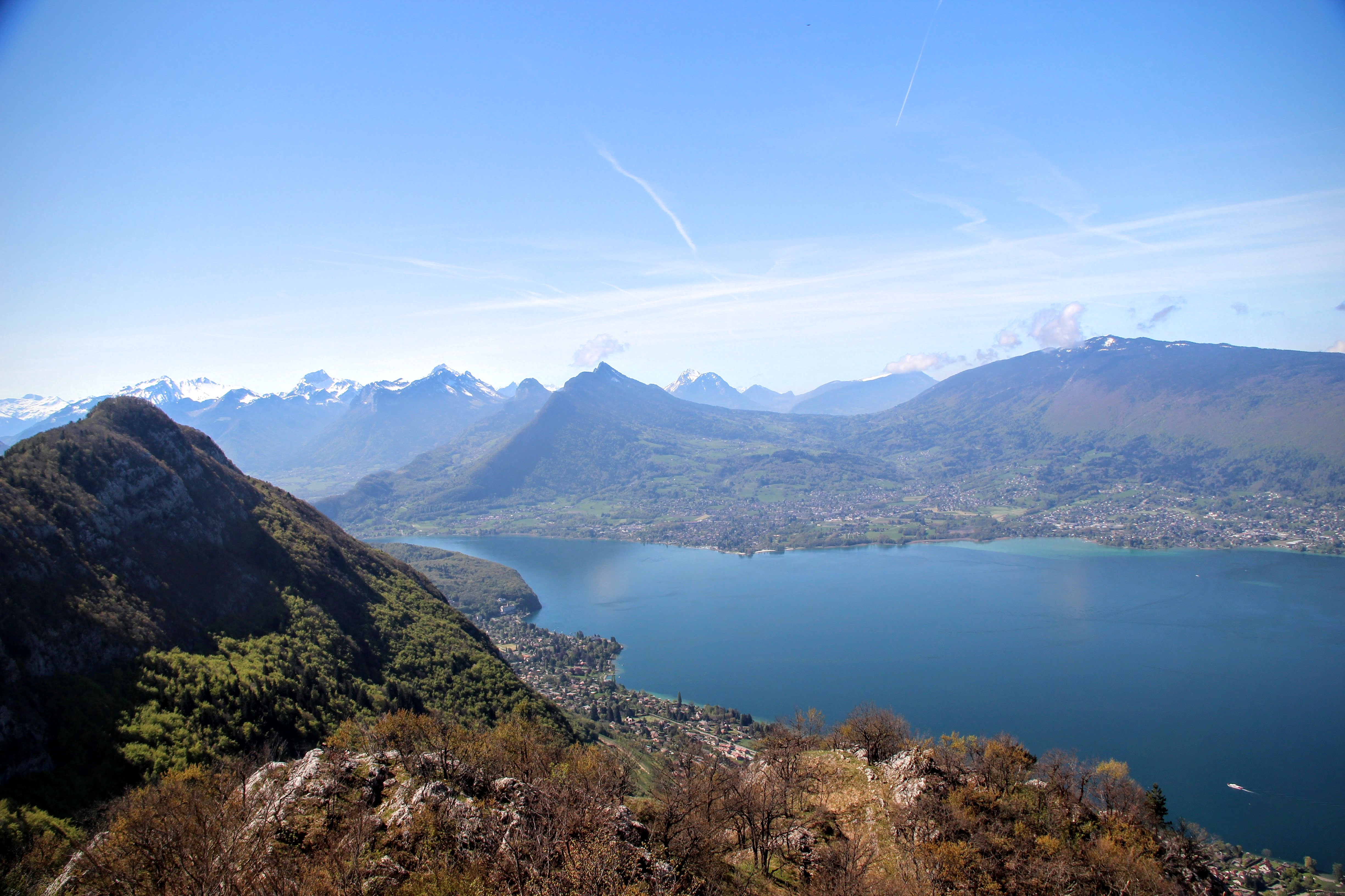 Le lac bleu...