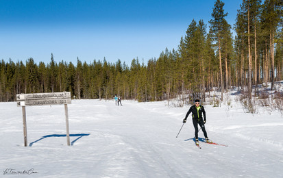 Bonheur du ski de fond en Finlande