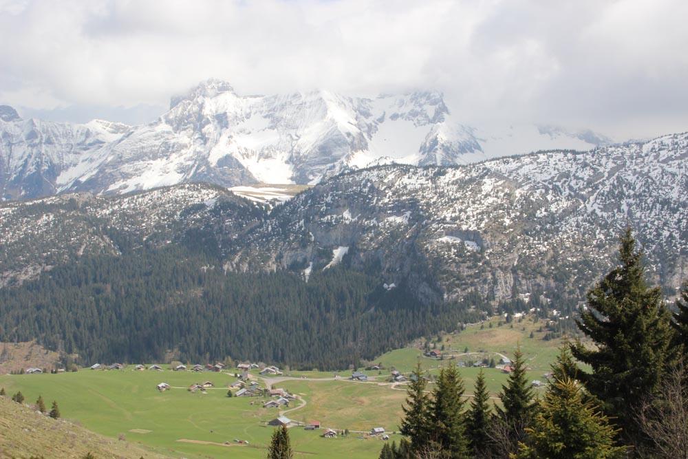 Le plateau de Solaison