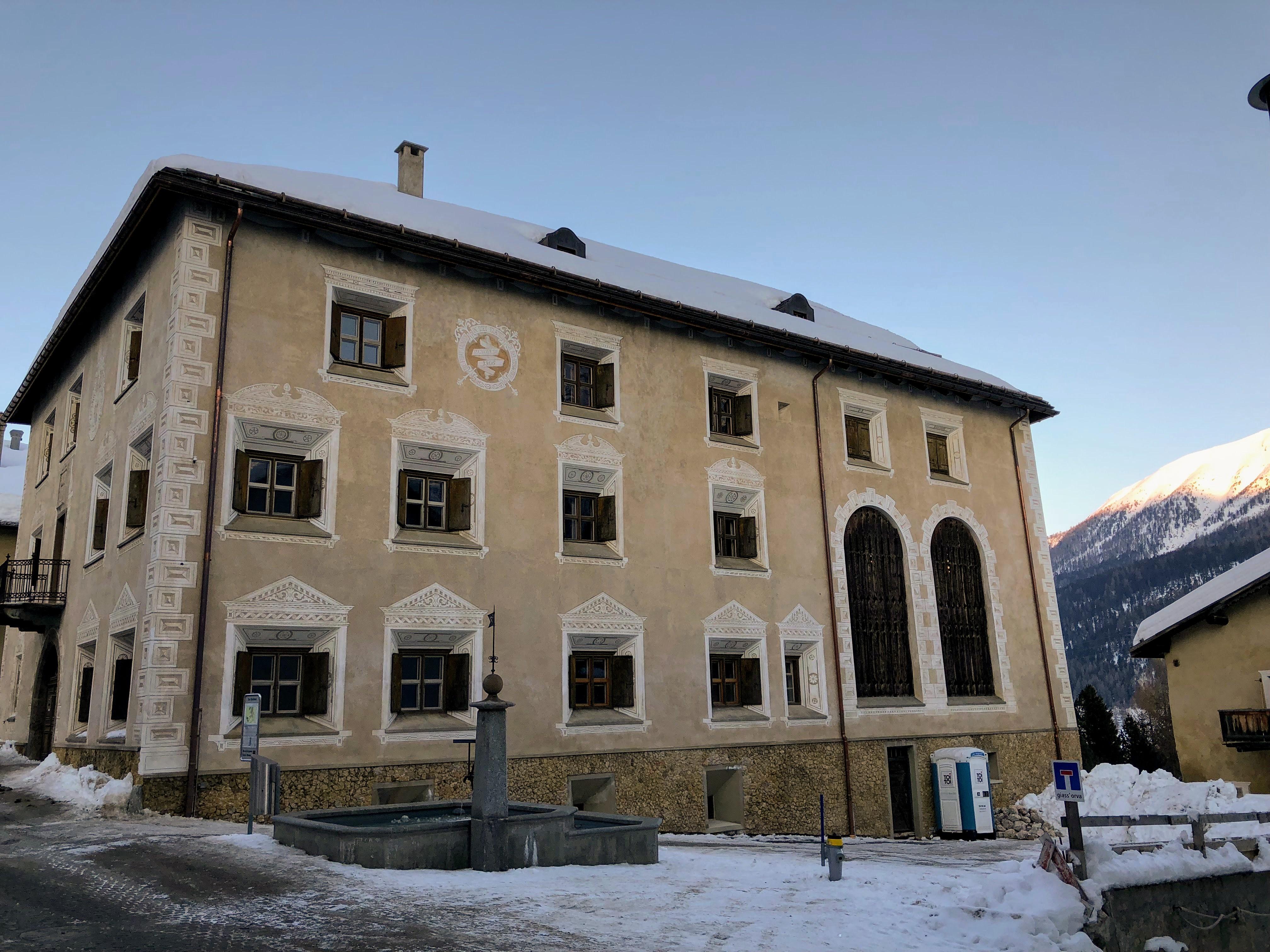 Maison de Zuoz