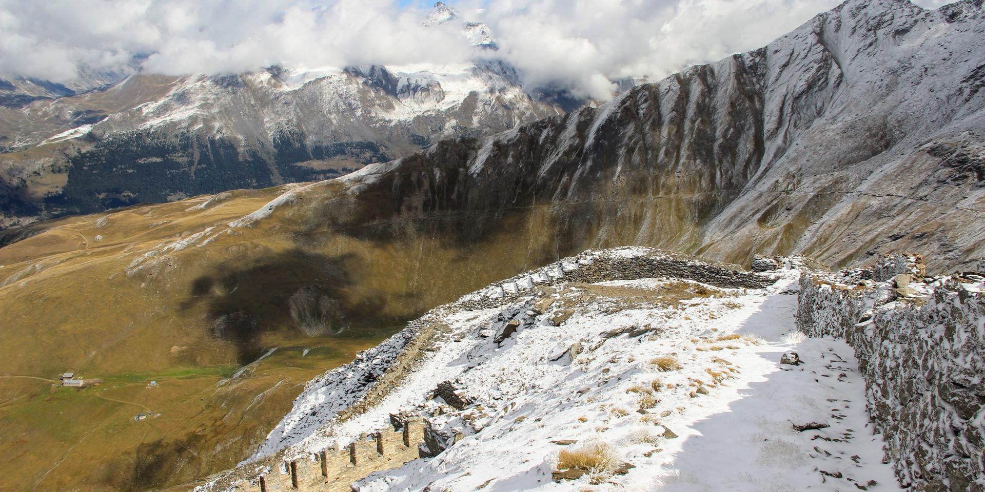 Le fort du mont Froid