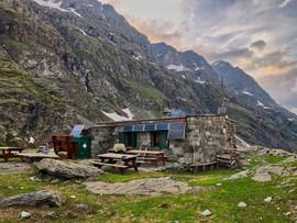 Le refuge d'Ambin (2270 m)