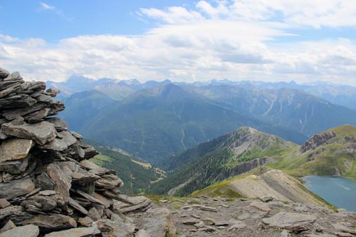 Au sommet du pic de Malrif (2906 m)