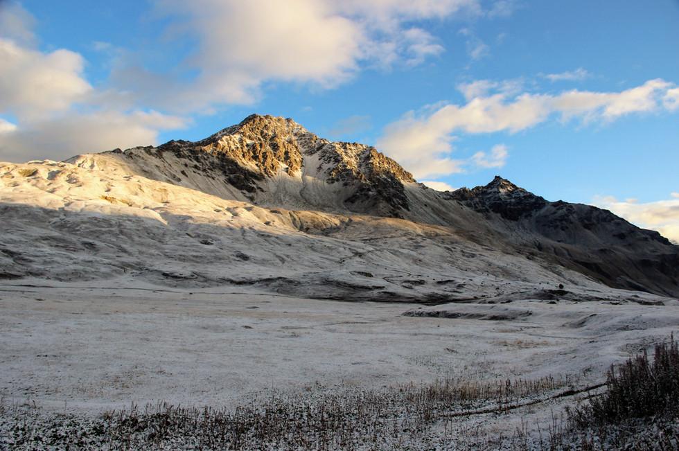 Le Petit Mont Cenis au petit matin
