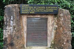 En mémoire de la première expédition