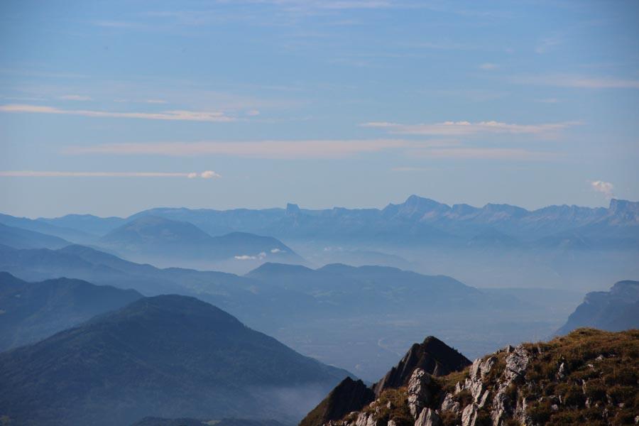 Le Grésivaudan et le Mt Aiguille
