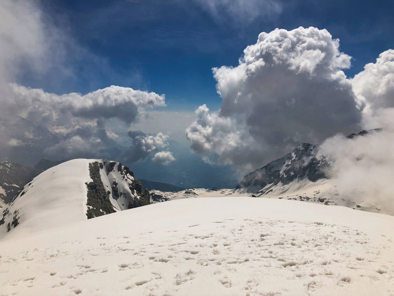 Le val de Suse depuis le mont d'Ambin (antécime)