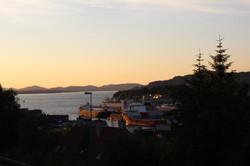 Le soleil s'endort sur Bergen