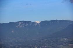 Le sommet du Mt-Blanc se dévoile
